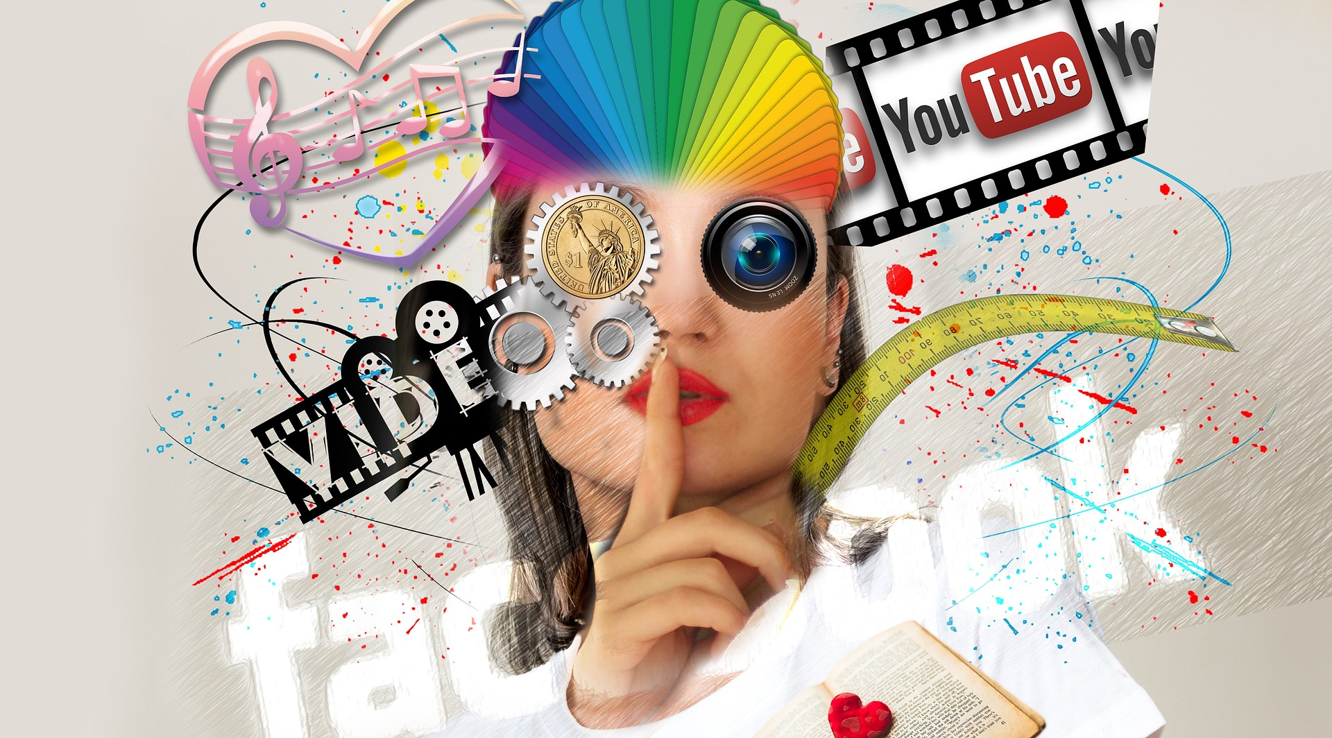 A human that is multioptional and using many media – Is he or she keeping its identity or is he or she vanishing in information?